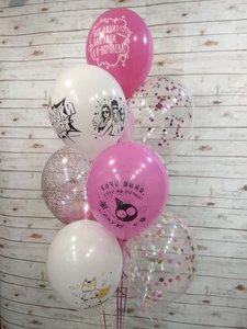 Воздушные шары на девичник купить в Череповце