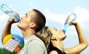 Сколько нужно пить воды - калькулятор нормы на сутки