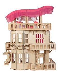 КОНСТРУКТОР «ЧУДЕСНЫЙ ДОМ» дерево. Размер дома: 1019х806х520 мм- даже лифт есть. Игрушки Сити. Череповец.