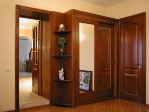 Восококачественные двери из массива дуба, ясеня, сосны.