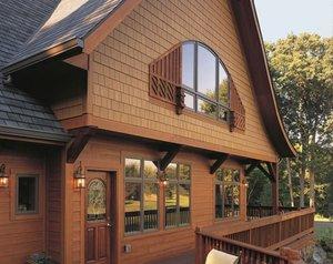 Закажите наружную отделку деревянного дома у профессионалов!