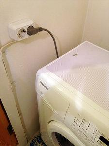 Подключение стиральной машины к электросети