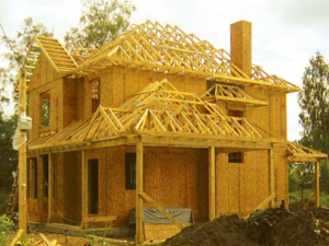 Сборка каркасного дома. Недорогое и качественное строительство