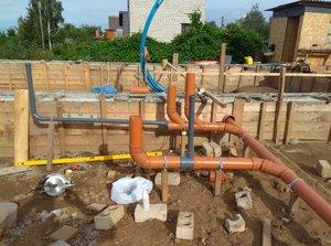 Проектирование и монтаж канализации дома в Вологде