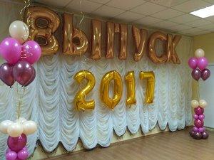 Воздушные шары на выпускной в Череповце