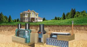Установка систем канализации в частном доме