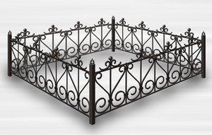 Заказать ограду на кладбище в Вологде