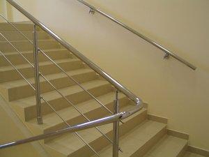 Поручни для лестниц из нержавейки в Рязани