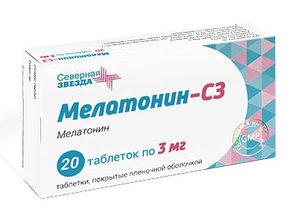 Адаптоген Мелатонин-СЗ для восстановления режима сна и биоритмов