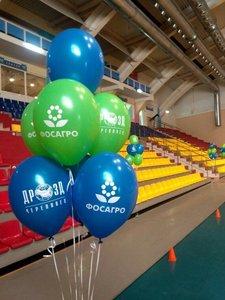 Воздушные шары с логотипом купить заказать в Череповце