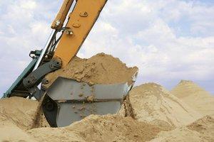 Поставки строительного песка с карьера!
