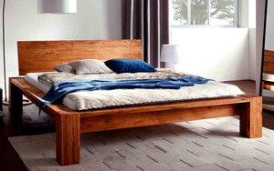 Кровать из массива на заказ в Вологде