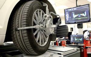 Где произвести сход развал колес автомобиля?