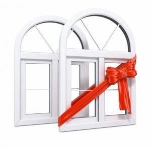 """Внимание! При заказе строительства дома """"под ключ"""" - Пластиковые окна в подарок!"""