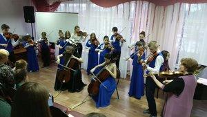 Праздничный концерт на отделении оркестровых инструментов «Пусть в душе звучит весна», посвященный Международному Женскому Дню 8 марта.