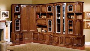 Шкаф из ценных пород дерева на заказ