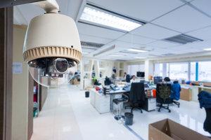 Обеспечение и монтаж системами безопасности офисного здания