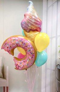 Воздушные шары для сладкой вечеринки