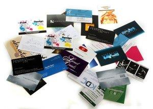 Изготовление визиток любого дизайна