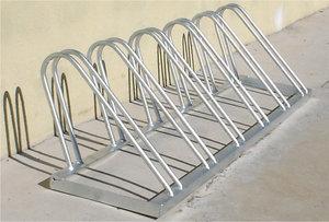 Изготовление велопарковки из нержавеющей стали в Воронеже