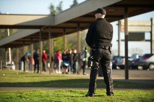 Услуги охраны при проведении мероприятий
