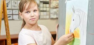 Профессиональное обучение рисованию детей в Вологде