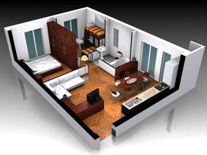 Предоставляем услугу 3D дизайна интерьера