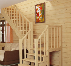 Купить перила для лестниц из сосны в Вологде
