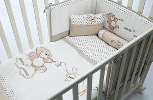 Купить набор в кроватку для новорожденных