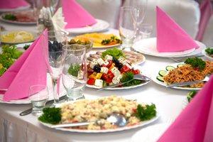 Свадебное меню в Оренбурге