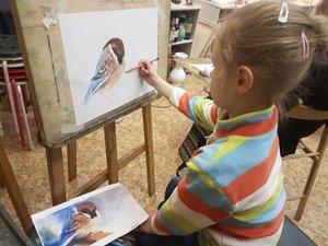 Обучение рисованию дошкольников в Вологде
