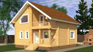 Строительство домов в Череповце под ключ из дерева