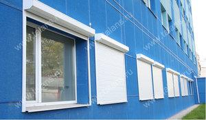Роллеты на окно. Защита ваших стекол!