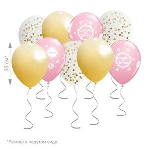 Облако из воздушных шаров на праздник купить заказать в Череповце