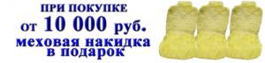 При покупке на 10 000 р. в интернет-магазине carfagen.ru подарок