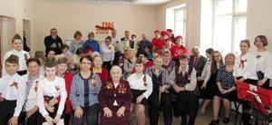 Торжественное мероприятие «Согреем памятью сердца…», посвящённое Юбилею Великой Победы в Совете Ветеранов Заводского района