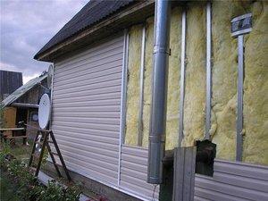 Утепление деревянного дома в Череповце