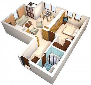 Планировки квартир в новостройке на ул. Фрязиновская