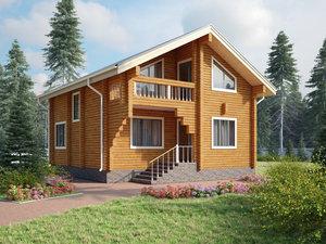 Комплексное строительство домов из бруса