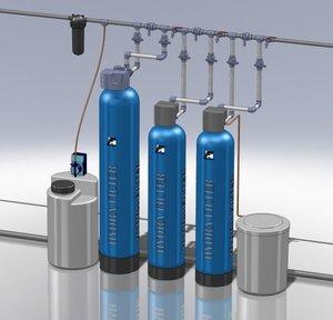 Системы очистки воды для коттеджей и загородных домов
