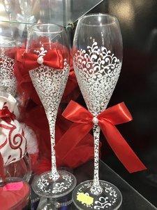 Распродажа свадебных бокалов в Череповце