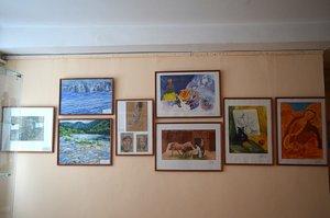 """Открытие выставки """"Дуэт в квадрате"""" на художественном отделении Детской школы искусств № 58."""