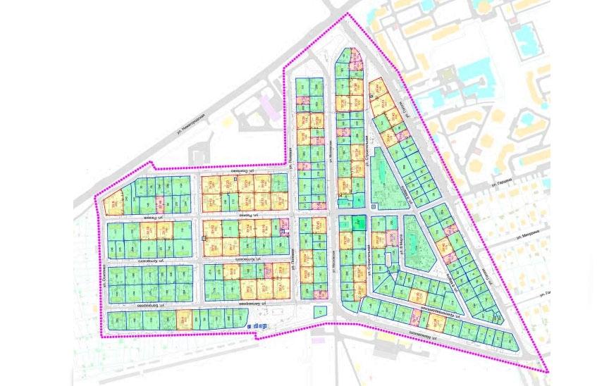 Проект межевания территории Череповец