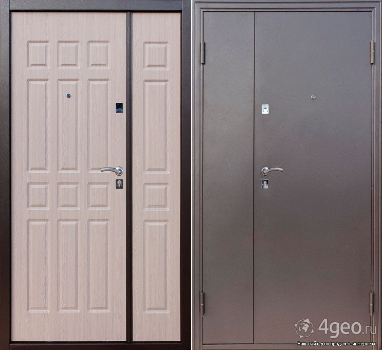 входные двери металлические 220 х 80