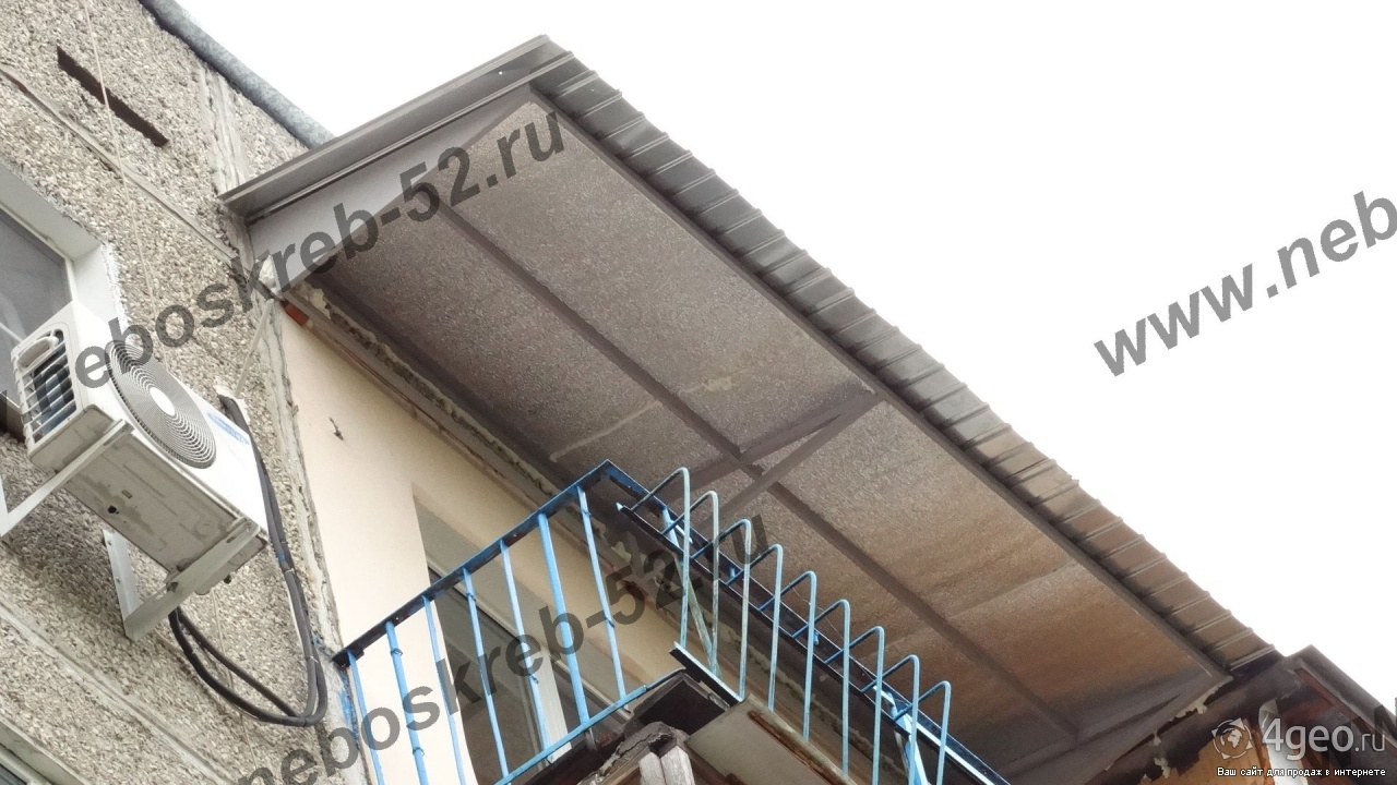 Остекление балкона если нехватате крыши. - недорогие, качест.