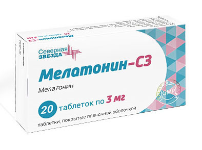 Адаптоген Мелатонин-СЗ