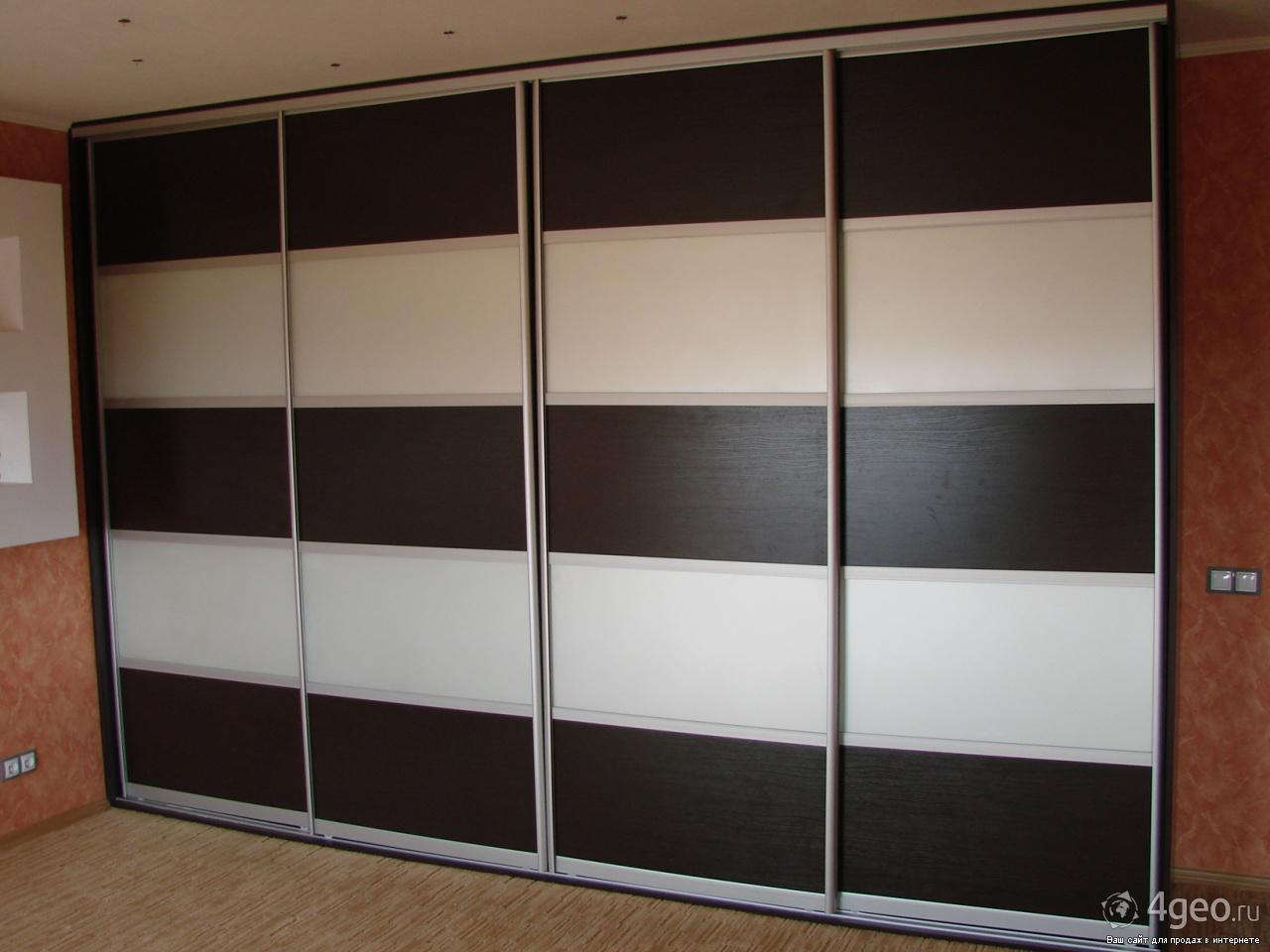 Двери-купе для встроенных шкафов от производителя от компани.
