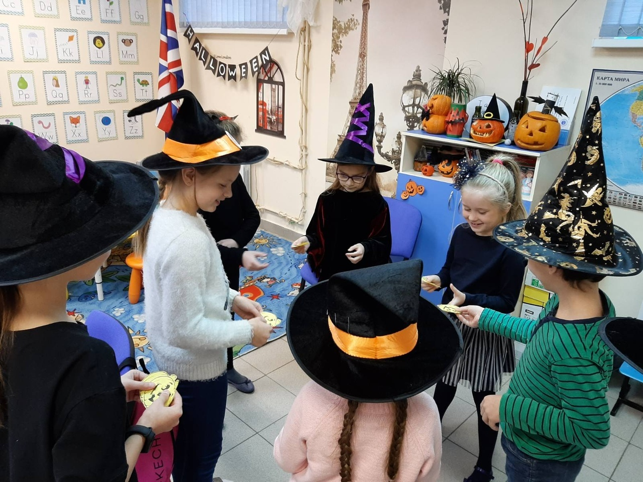 Halloween в Just-Speak Вологда