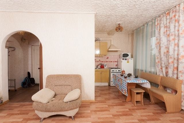 Фото комнаты и кухни