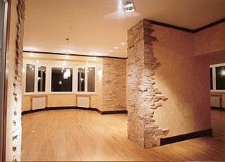 Косметический ремонт квартир - пример работ